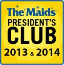 The Maids President's Club 2013 & 2014